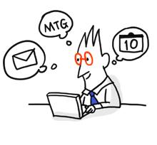 企業に必要な情報を集約して、業務のスピードアップを実現